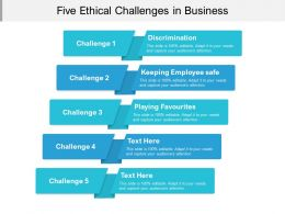 Five Ethical Challenges In Business