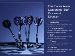 Five Focus Areas Leadership Staff Process And Direction