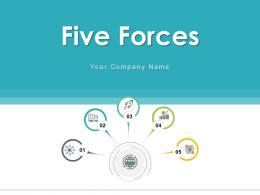 Five Forces Achievement Approval Innovation Business Growth Solution