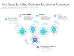 Five Gears Exhibiting Customer Experience Framework