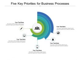 Five Key Priorities For Business Processes