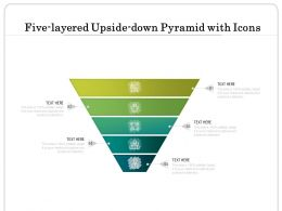 Five Layered Upside Down Pyramid With Icons