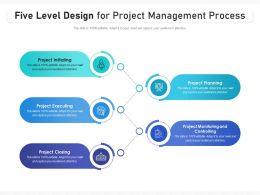 Five Level Design For Project Management Process