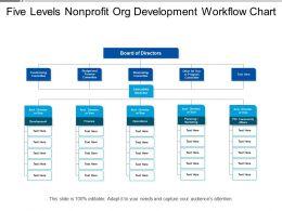 Five Levels Nonprofit Org Development Workflow Chart