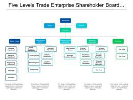 Five Levels Trade Enterprise Shareholder Board Director Org Chart