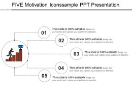Five Motivation Iconssample Ppt Presentation