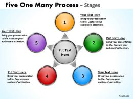 Five One Many Process Stages 11
