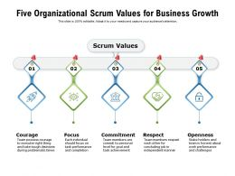 Five Organizational Scrum Values For Business Growth