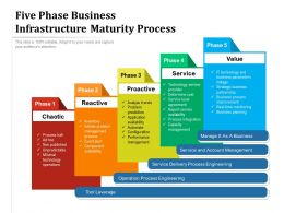 Five Phase Business Infrastructure Maturity Process