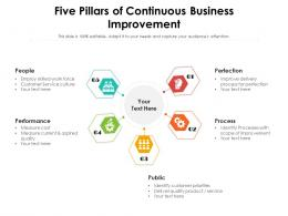 Five Pillars Of Continuous Business Improvement