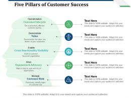 Five Pillars Of Customer Success Customer Lifecycle Customer Risk