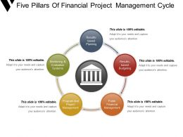 Five Pillars Of Financial Project Management Cycle