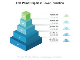 Five Point Graphic In Tower Formation