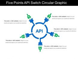 Five Points Api Switch Circular Graphic