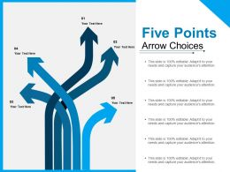 Five Points Arrow Choices