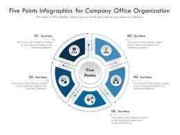 Five Points For Company Office Organization Infographic Template