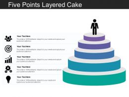Five Points Layered Cake