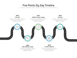 Five Points Zig Zag Timeline