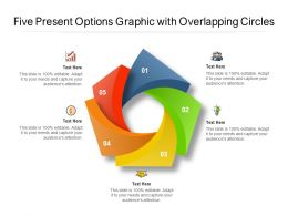 Five Present Options Graphic With Overlapping Circles