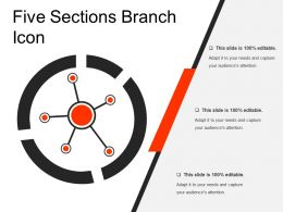 Five Sections Branch Icon