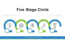 Five Stage Circle Financial Investment Management Business Portfolio
