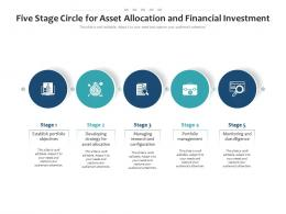 Five Stage Circle For Asset Allocation And Financial Investment