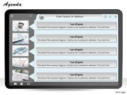 five_staged_3d_agenda_display_diagram_0214_Slide01