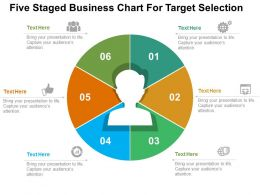 five_staged_business_chart_for_target_selection_flat_powerpoint_design_Slide01