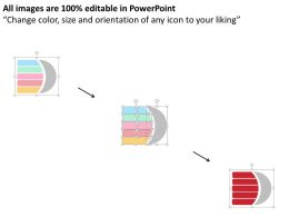 92501630 Style Layered Vertical 5 Piece Powerpoint Presentation Diagram Infographic Slide