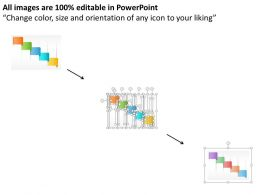five_staged_colored_banner_diagram_powerpoint_template_Slide02