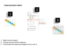 five_staged_colored_banner_diagram_powerpoint_template_Slide03