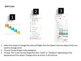 five_staged_colored_banner_diagram_powerpoint_template_Slide04