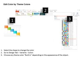 five_staged_colored_banner_diagram_powerpoint_template_Slide05