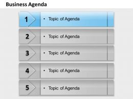 Five Staged Dependent Text Boxes For Agenda 0214