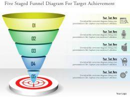 11155507 Style Essentials 2 Our Goals 5 Piece Powerpoint Presentation Diagram Infographic Slide