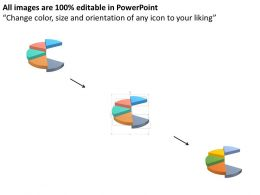 five_staged_pie_graph_for_resul_analysis_powerpoint_template_Slide02