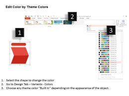 25623248 Style Layered Horizontal 5 Piece Powerpoint Presentation Diagram Infographic Slide