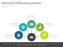 five_staged_semicircle_of_business_process_powerpoint_slides_Slide01