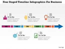 five_staged_timeline_infographics_for_business_flat_powerpoint_design_Slide01