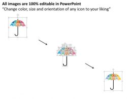 five_staged_umbrella_chart_powerpoint_template_Slide02