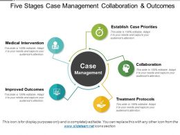 Five Stages Case Management Collaboration And Outcomes