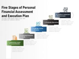 Five Stages Of Personal Financial Assessment And Execution Plan