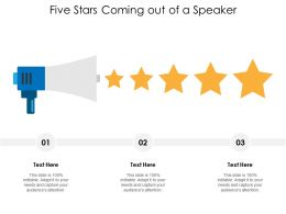 five_stars_coming_out_of_a_speaker_Slide01