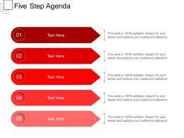 Five Step Agenda
