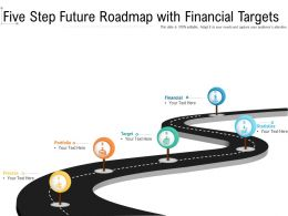 Five Step Future Roadmap With Financial Targets