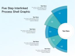 Five Step Interlinked Process Shell Graphic