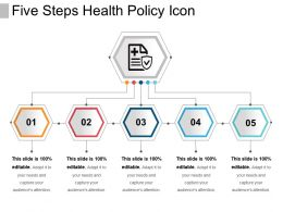 Five Steps Health Policy Icon