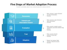 Five Steps Of Market Adoption Process