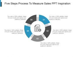 Five Steps Process To Measure Sales Ppt Inspiration