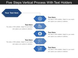 five_steps_vertical_process_with_text_holders_Slide01